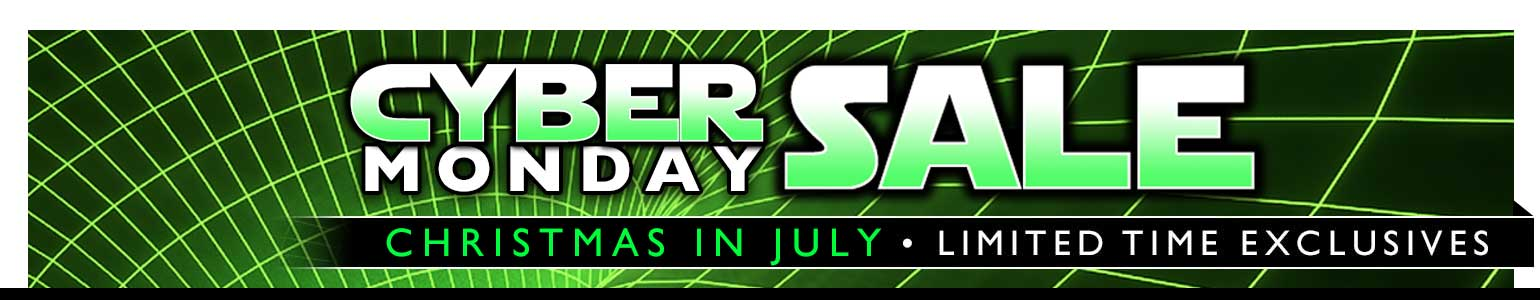 Cyber Monday Sale (July Edition)! Yes, it's like Christmas in July.