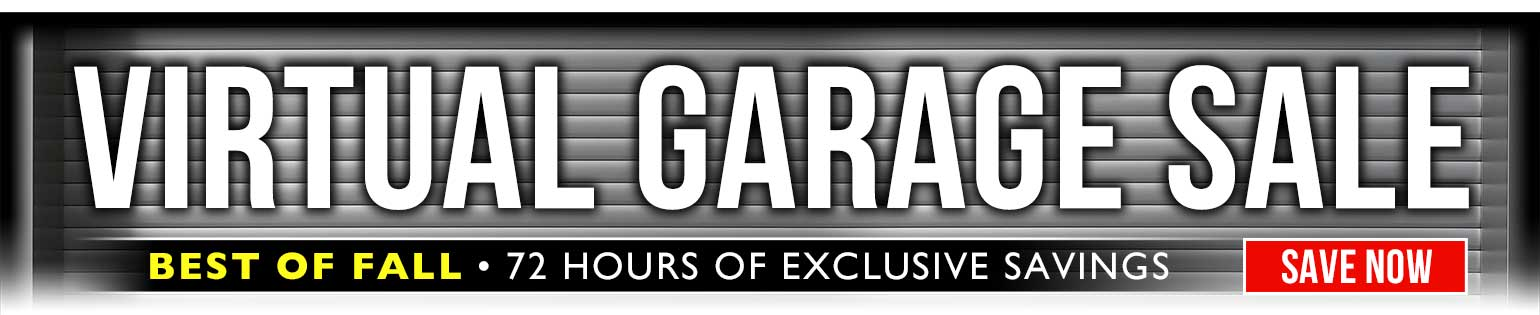 72 Hour Virtual Garage Sale: BEST of Fall Prices, all weekend long!