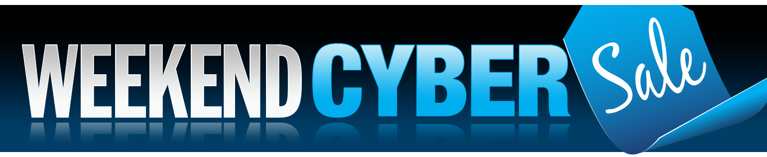72 Hour CYBER Sale: End your February with our BEST prices!