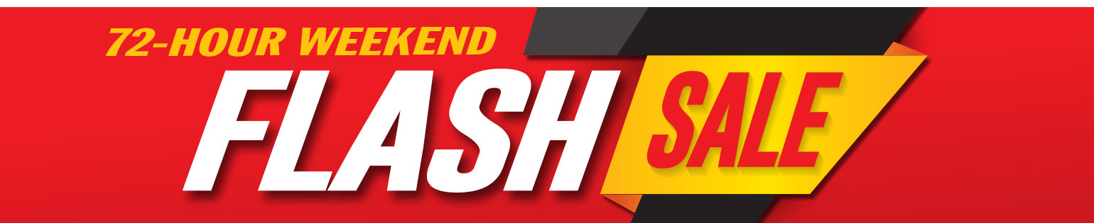 72 Hour Weekend Flash Sale: Stock up now on November ESSENTIALS!